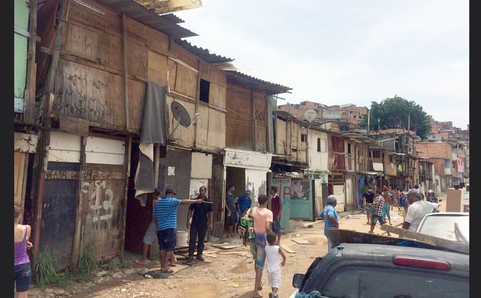 Incêndio na favela de Paraisópolis