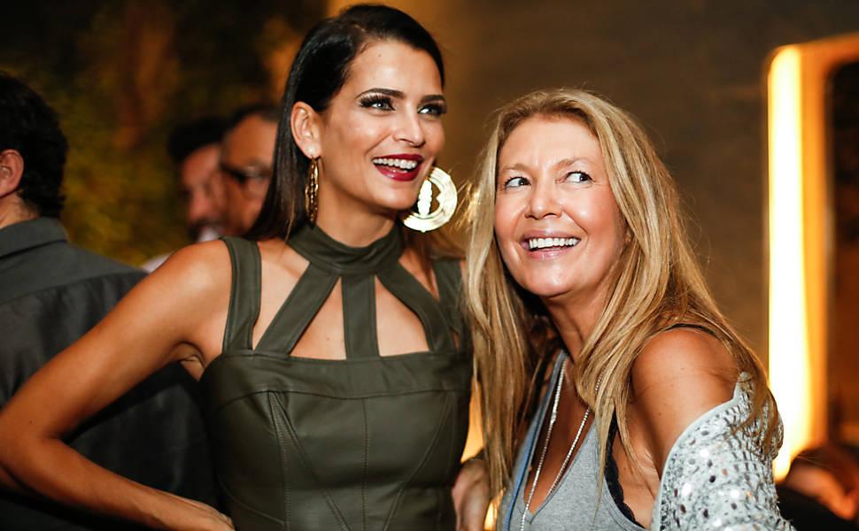 """Festa da """"Vogue Brasil"""" na SPFW"""