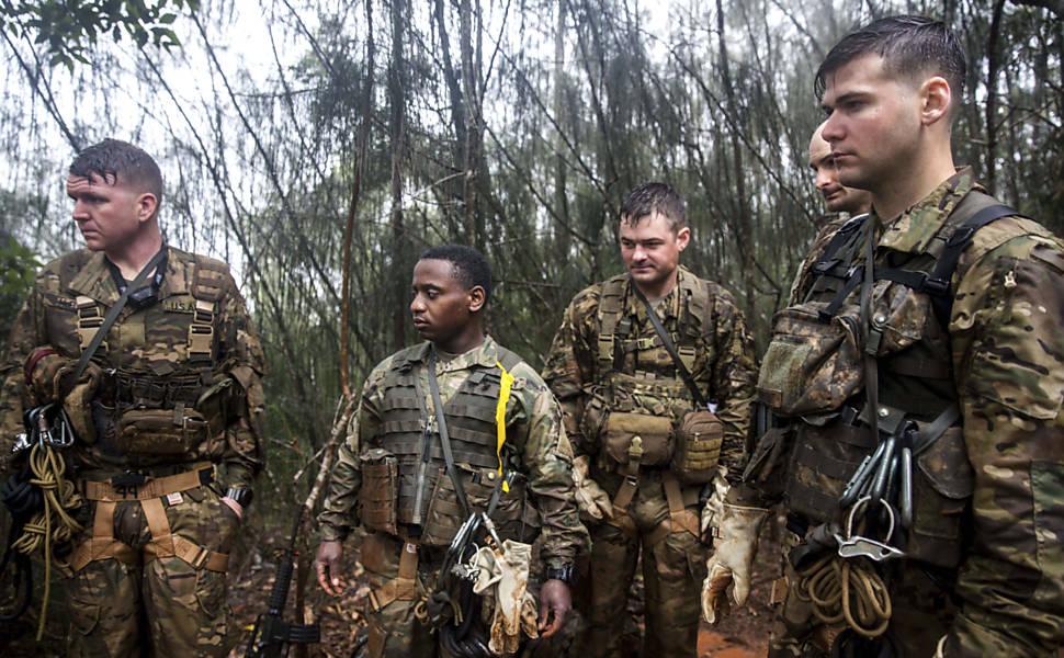 Treinamento de selva dos EUA