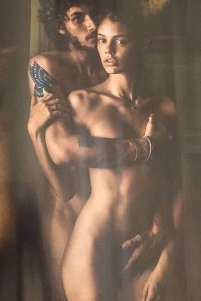 Casais famosos que posaram nus juntos