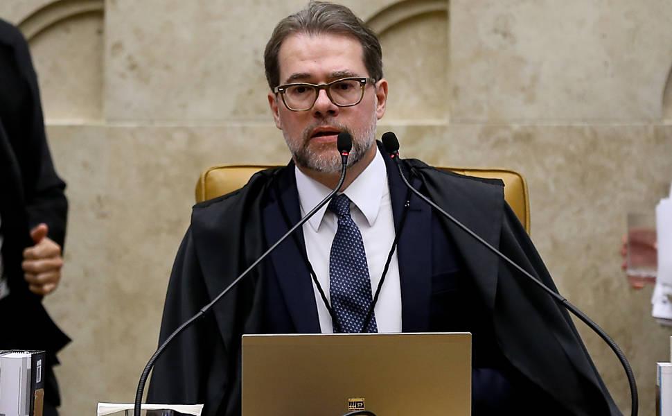Ministro Dias Toffoli, atual presidente do STF: natural de Marília (SP), foi indicado por Lula em 2009