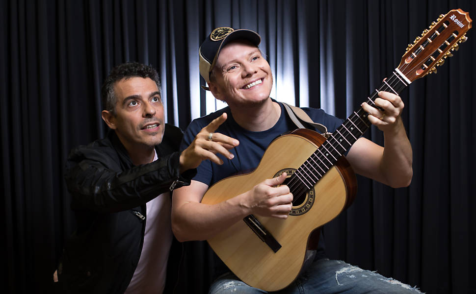 Michel Teló ensaia musical