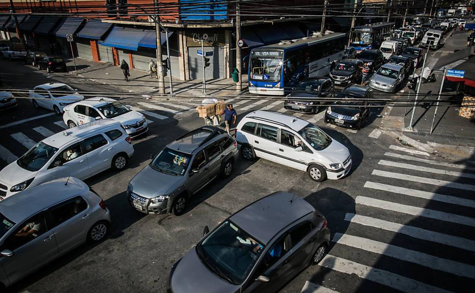 Caos nos semáforos de SP