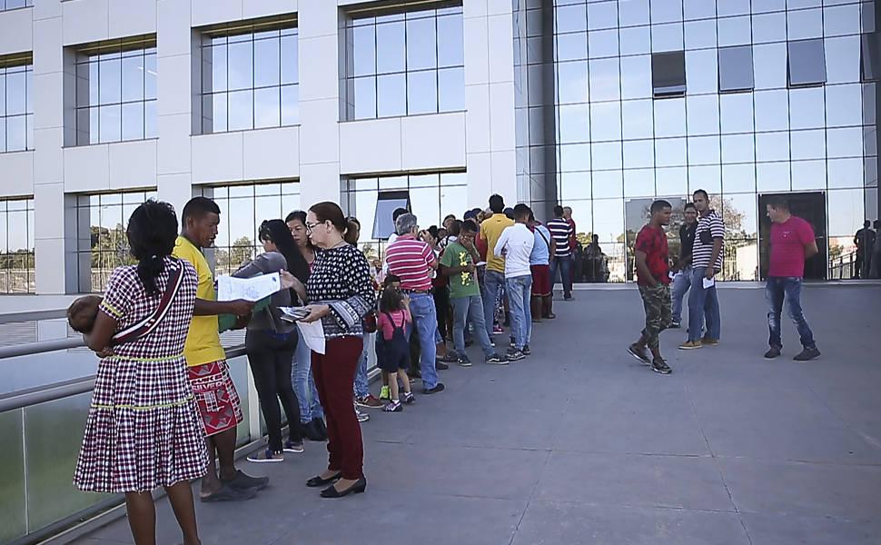 Cresce pedido de refúgio de venezuelanos