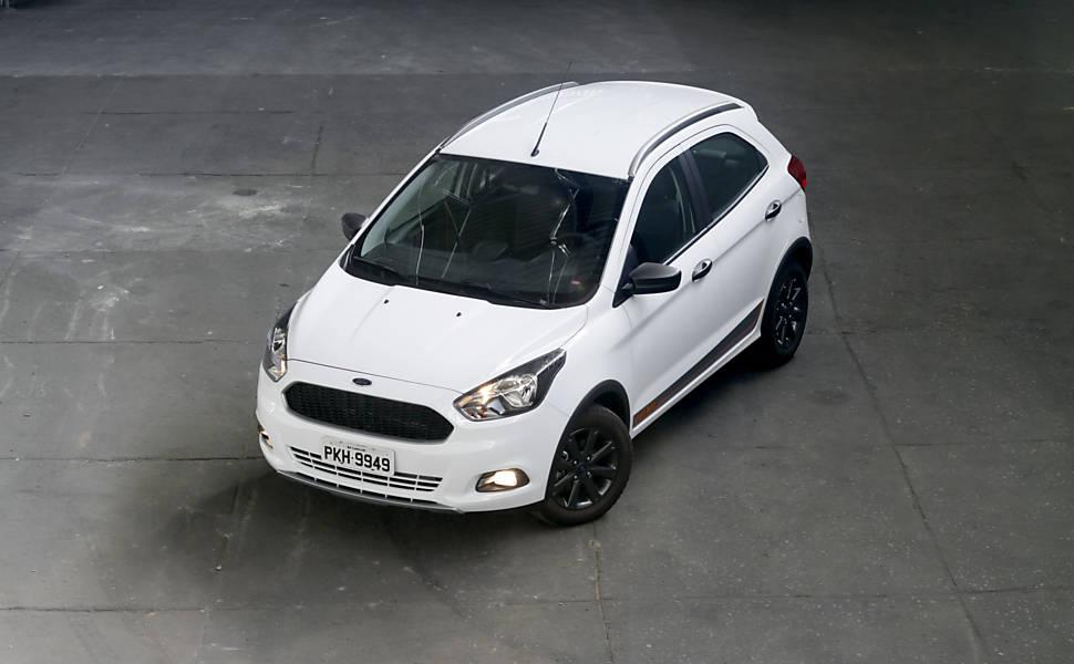 Teste Folha Mauá - Fiat Uno Way e Ford Ka Trail