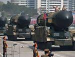 Míssil não identificado é apresentado durante parada militar na Coreia do Norte
