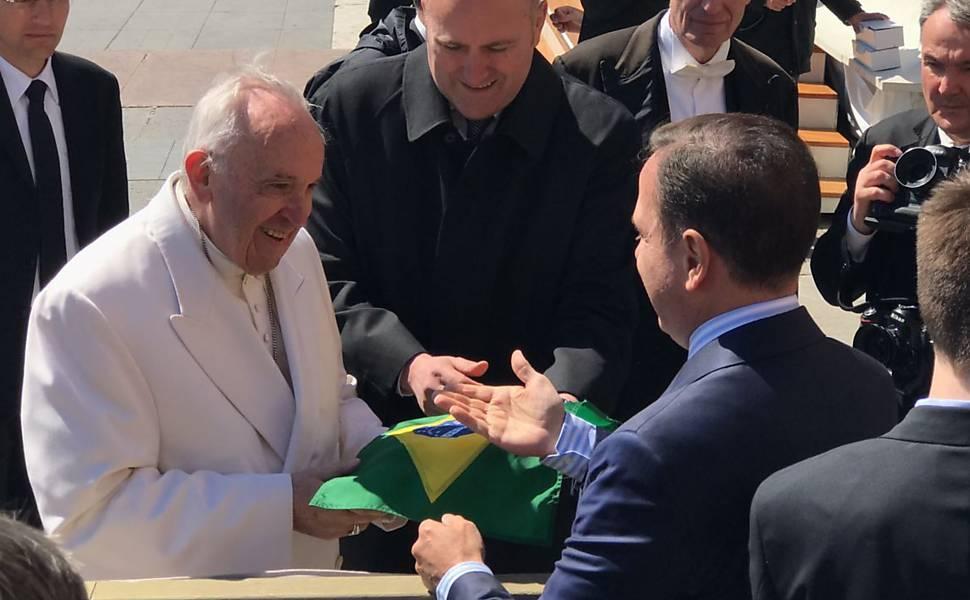 Doria visita Papa