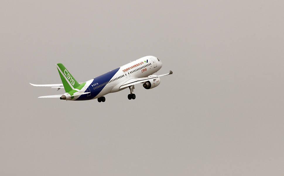 C919 - o avião chinês para competir com Boeing e Airbus