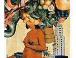 Colagem de Alex Kidd a partir de obras de Albert Eckhout para