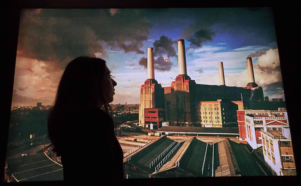 Exposição do Pink Floyd em Londres