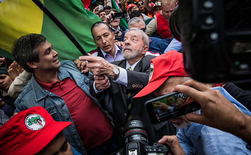 Depoimento de Lula em Curitiba, em 2017