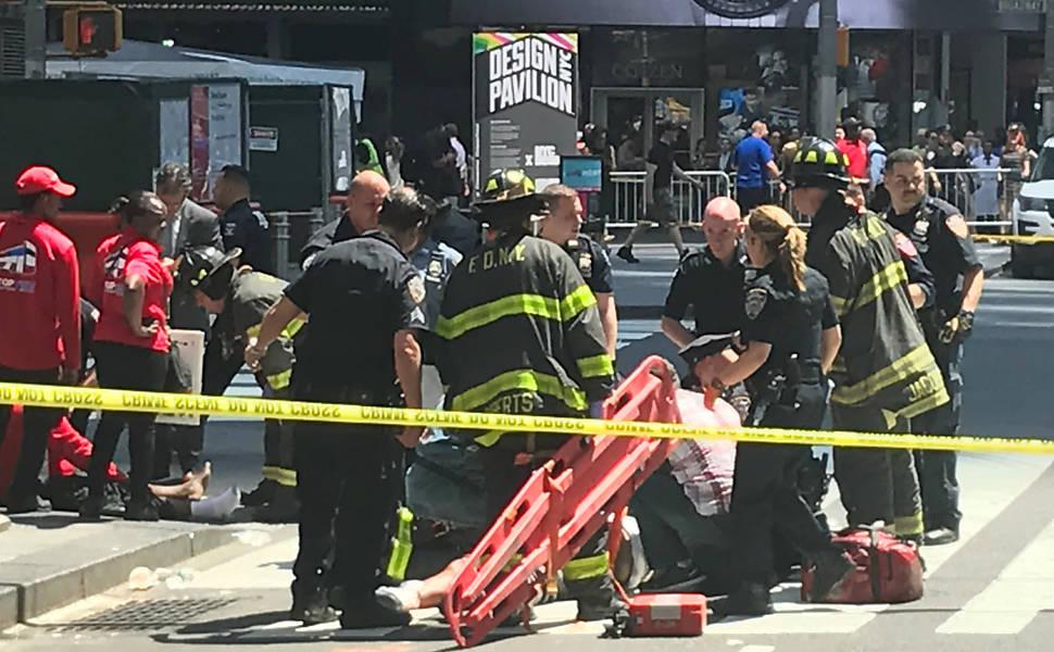 Atropelamento na Times Square