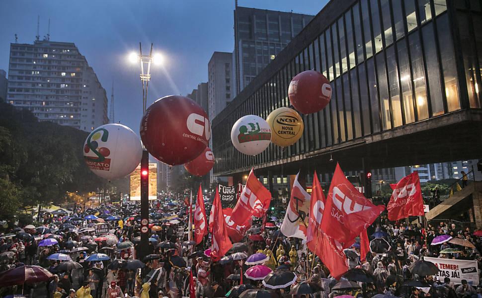 Protestos contra governo Temer