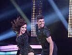 Maytê Piragibe e o bailarino Paulo Victor