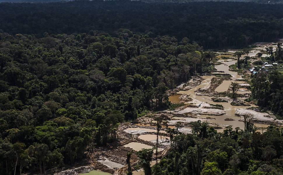 Garimpo na terra indígena Munduruku