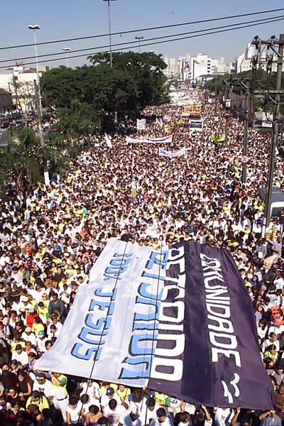 25 anos de Marcha para Jesus