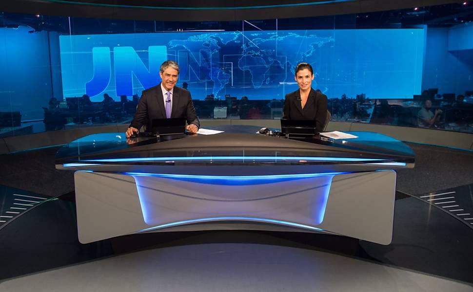 Novo cenário do Jornal Nacional