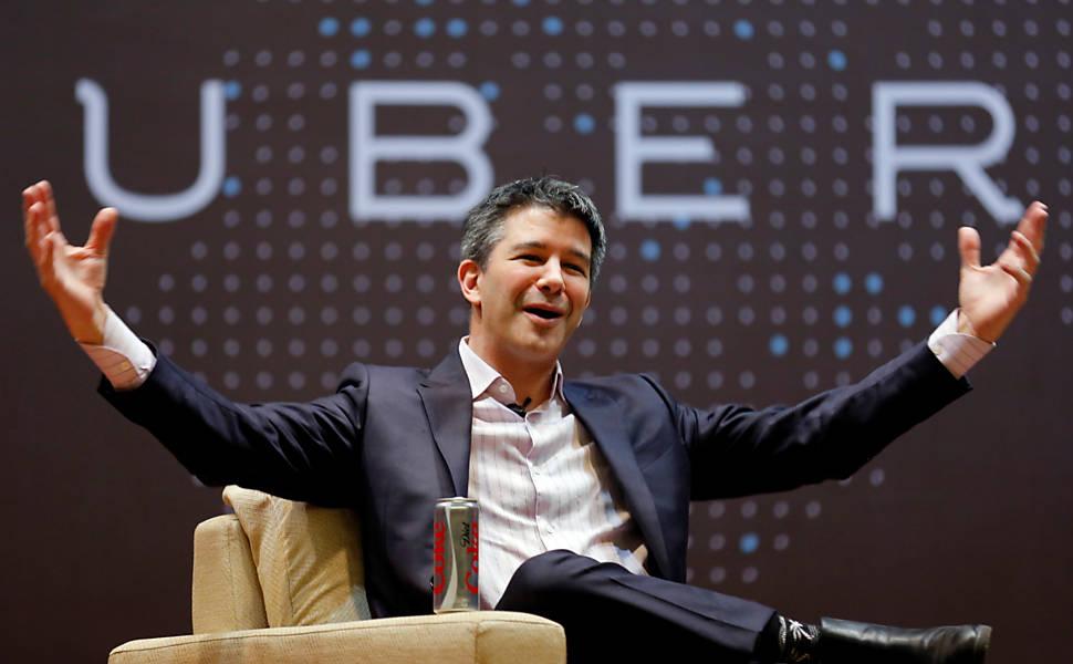 Fundador da Uber brinca com fogo