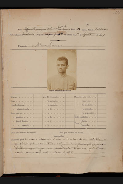 Documentos da vida de Lima Barreto