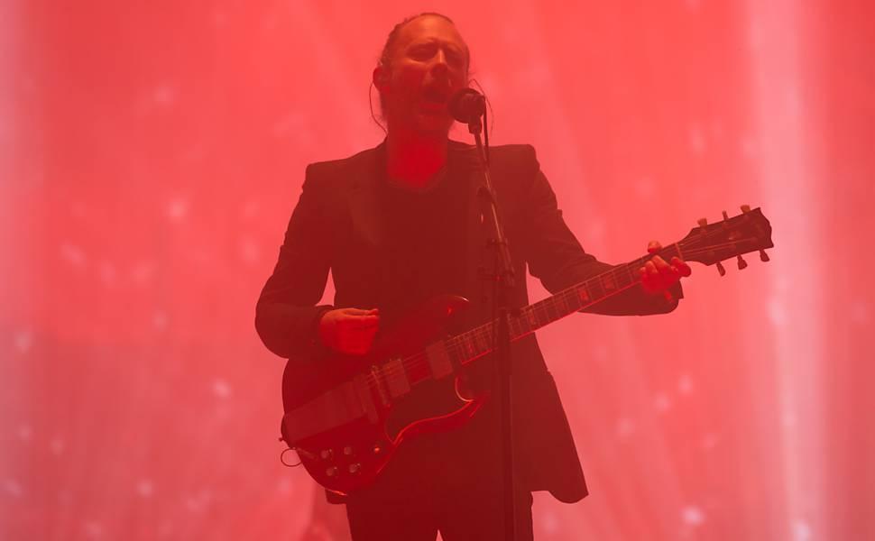 Radiohead no festival Glastonbury