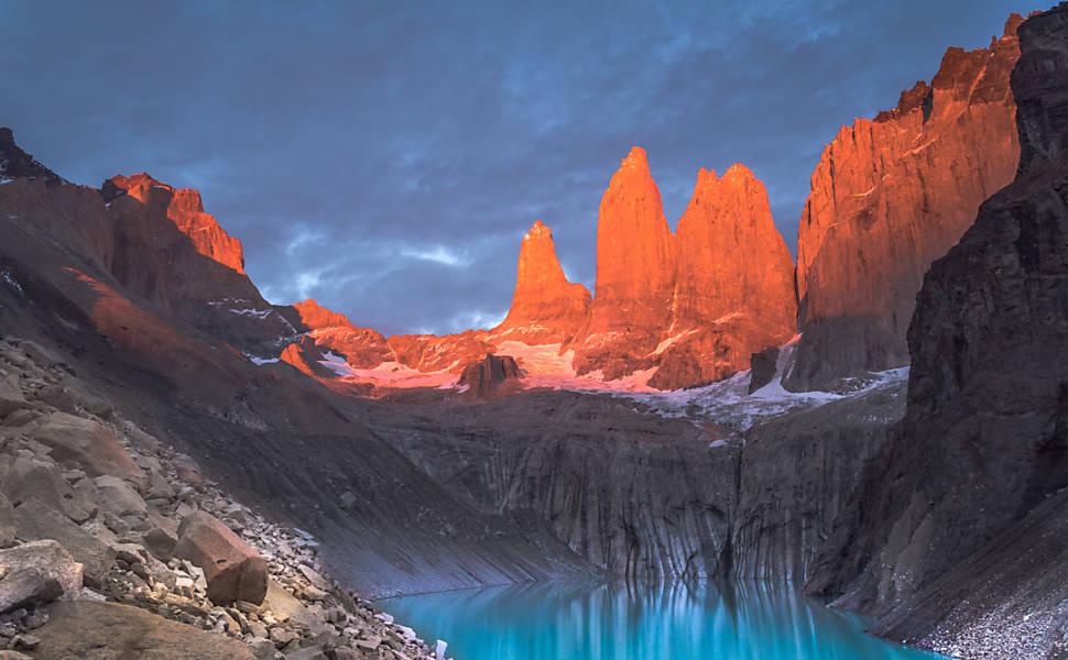 Parque Nacional Torres del Paine, na Patagônia chilena