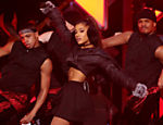 Ariana Grande em show em Nova York, em 2016