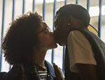 Fio ( Lucas Penteado ) beija Ellen ( Heslaine Vieira )
