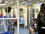 As five no metrô