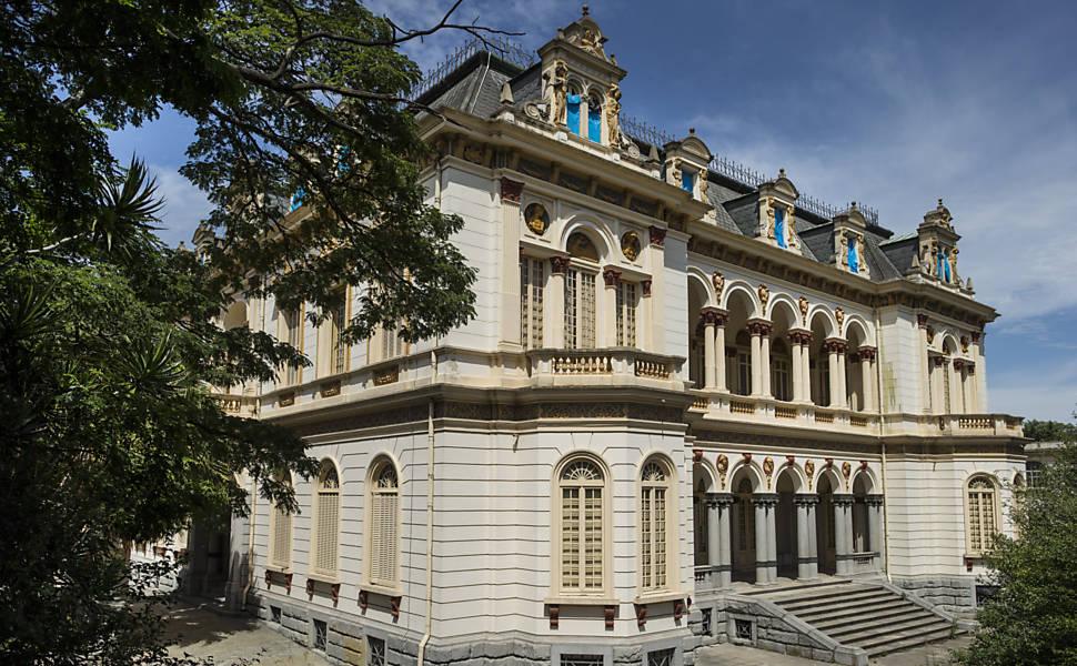 Fotos do Palácio dos Campos Elíseos