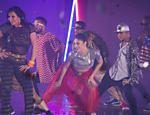 Gretchen participa do novo clipe da canção 'Swish Swish', de Katy Perry