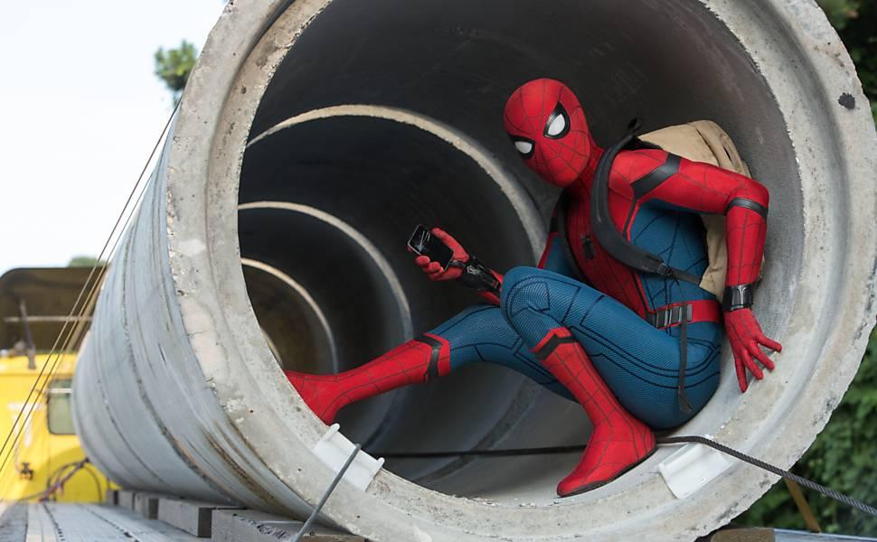 'Cenas de Homem-Aranha: De Volta ao Lar'