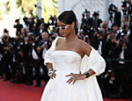 Singer Rihanna poses for photographers upon arrival at the screening of the film Okja at the 70th international film festival, Cannes, southern France, Friday, May 19, 2017. (AP Photo/Thibault Camus) ORG XMIT: CAN153