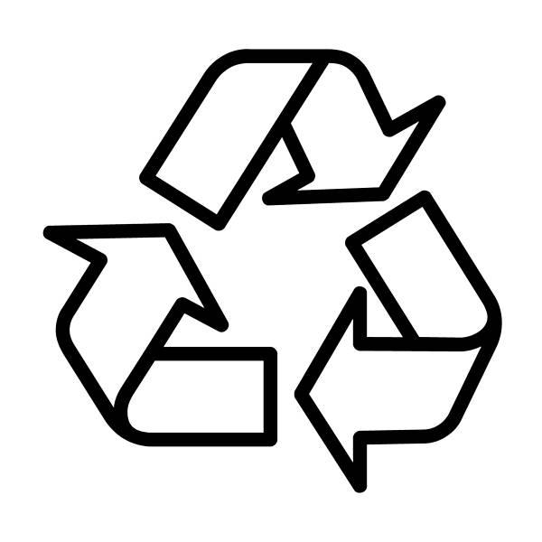 Conheça os símbolos da reciclagem e o que eles significam