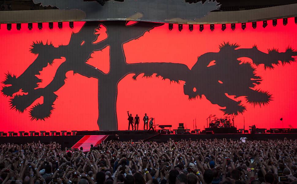 Show do U2 em Londres