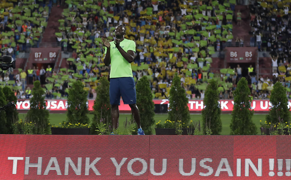 Isto é Usain Bolt