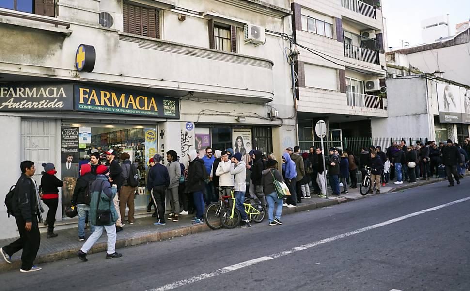 Maconha em farmácias no Uruguai