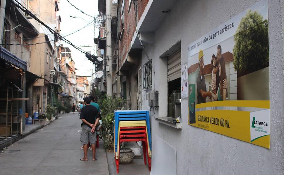 Publicidade na favela