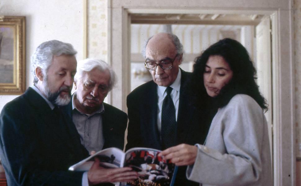 Saramago e Amado