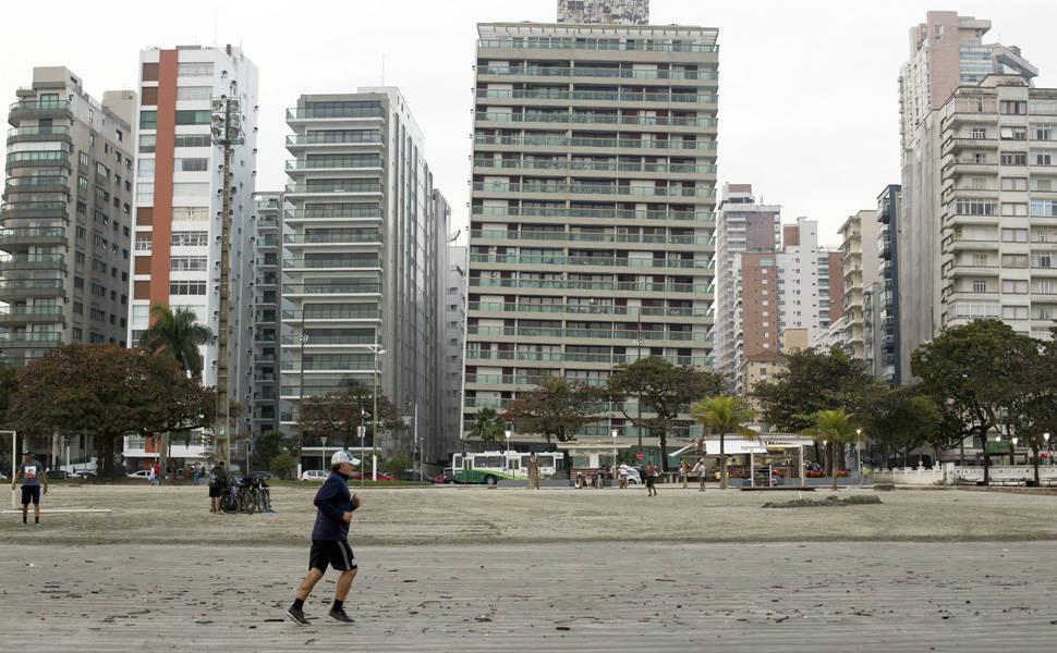 Um dia em Santos