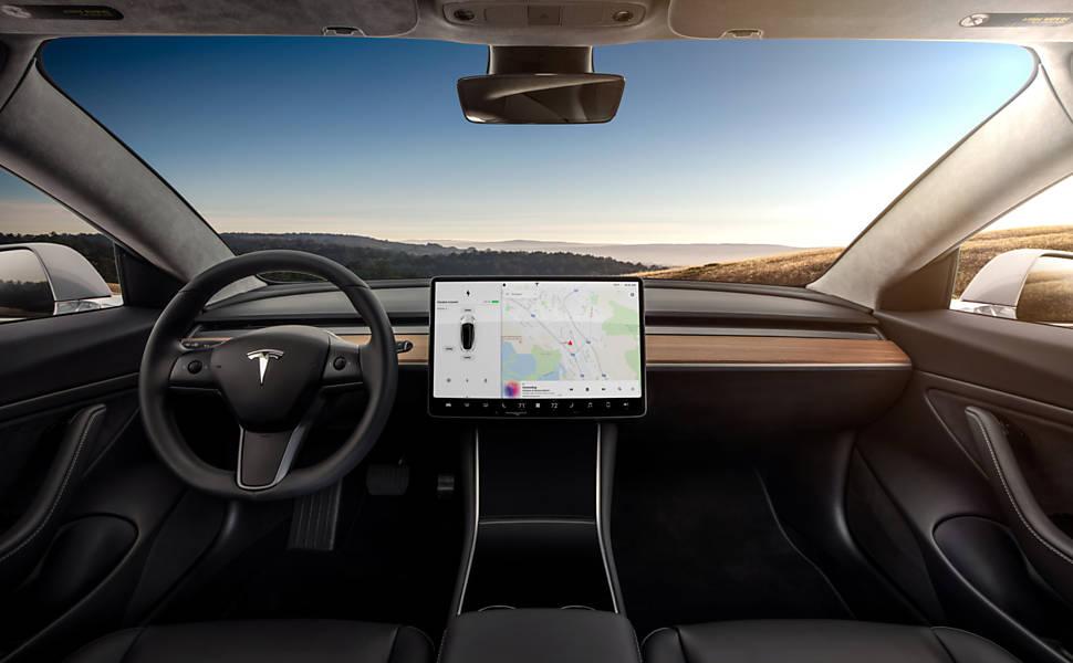 Tesla lan�a carro el�trico acess�vel