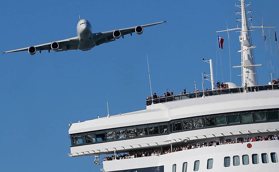 Airbus A380, o maior avião comercial do mundo