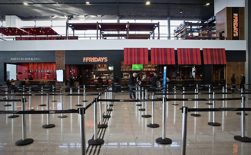 Novas lojas no aeroporto de Guarulhos