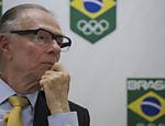 O presidente do COB (Comitê Olímpico Brasileiro), Carlos Arthur Nuzman, durante entrevista na sede da entidade no Rio de Janeiro