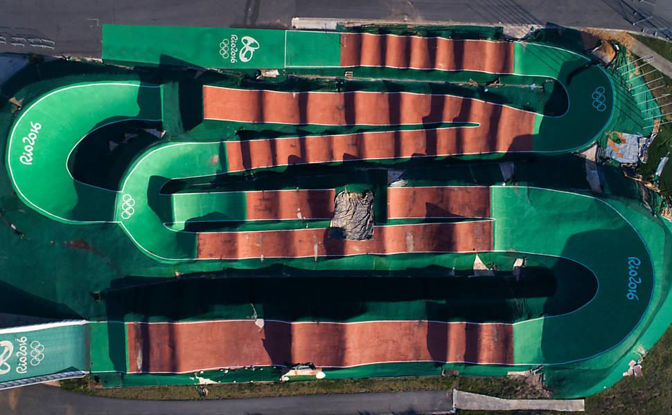 Situa��o das arenas da Rio-2016