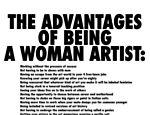 Um dos cartazes criados pelas Guerrilla Girls