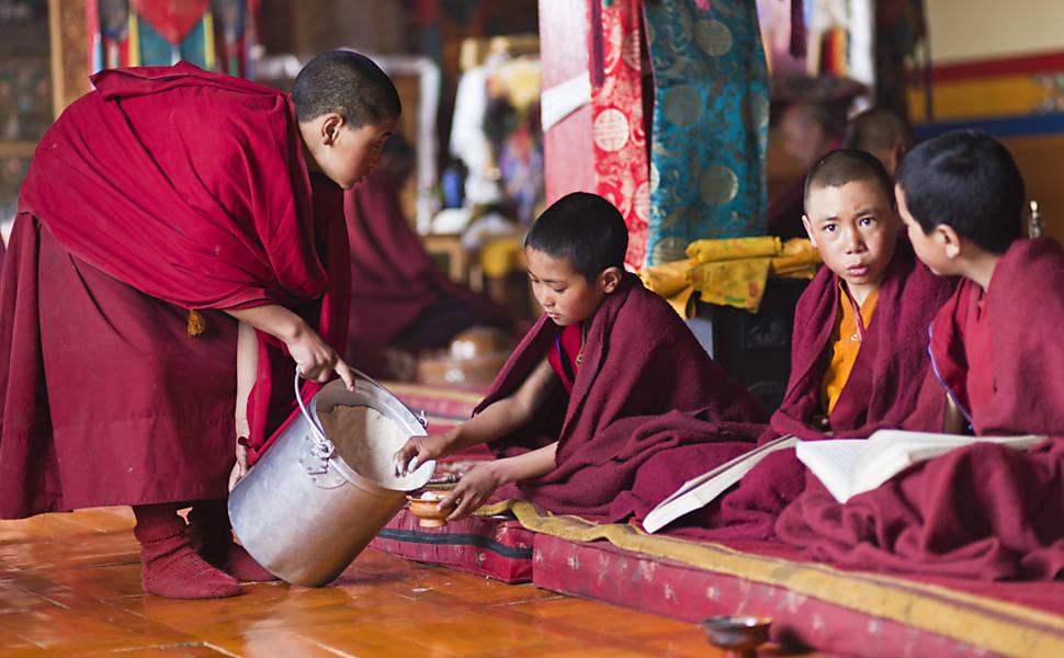 Ladakh, cidade dos monastérios