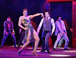 Claudia Raia dança um pas-de-deux com Jarbas no musical
