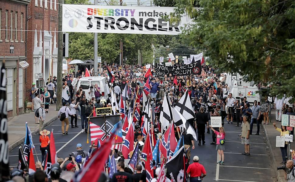 Protestos da extrema direita nos EUA