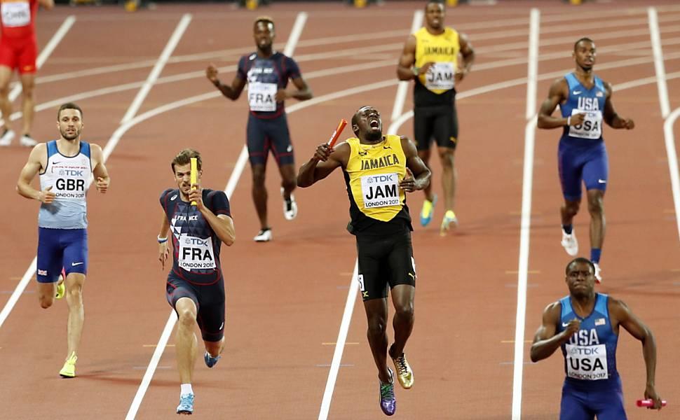 Usain Bolt se lesiona