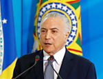 Presidente Michel Temer durante Cerimônia de Assinatura do Decreto que Reconhece os Supermercados como Atividade Essencial, no Palácio do Planalto
